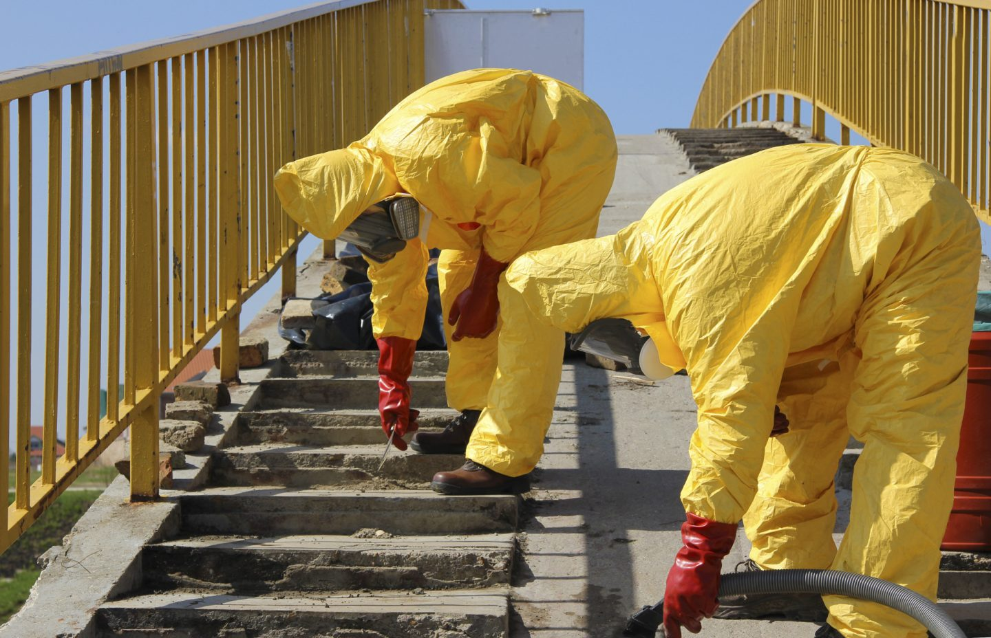 Hazardous Material Removal: Time to Call the Experts